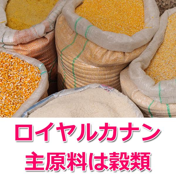 主原材料が穀類