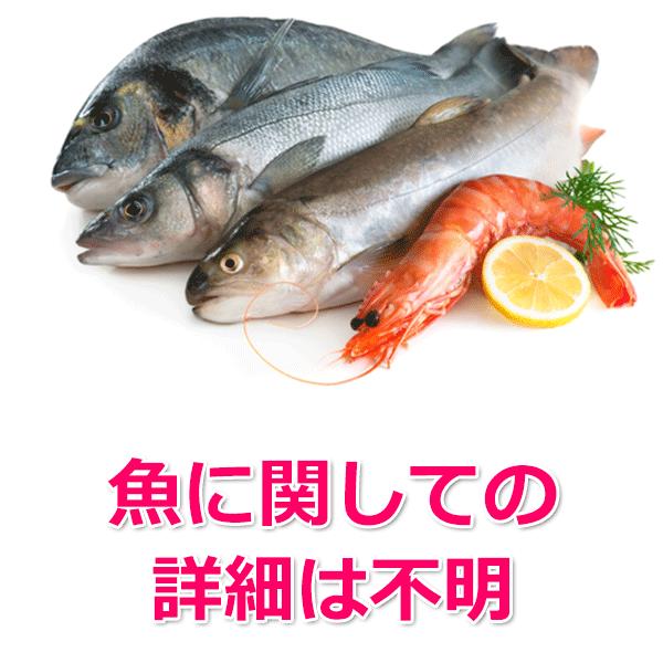 魚の詳細がわからない